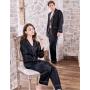 Мужская и женская шелковые пижамы PIJ067