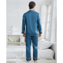 Пижама из натурального шелкового атласа высокой плотности PIJ069