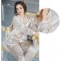 Пижама из натурального шелкового атласа PIJ072