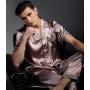 Пижама из натурального шелкового атласа PIJ075A