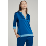 Пижама из натурального шелкового стрейч-атласа высокой плотности PIJ079