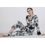 Пижама из натурального шелкового стрейч-атласа PIJ080