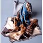 Шарф из атласного шелка 170 см х 53 см SHR-003