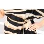 Платье из шелкового крепдешина PLA004