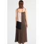 Платье из двойного крепа высокой плотности PLA007