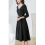 """Платье из натурального """"мокрого шелка"""" PLA016"""