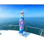 Платье из шелкового шифона PLA021