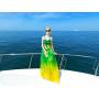 Платье из шелкового шифона PLA024