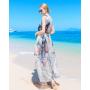 Платье из шелкового шифона PLA027