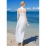 Платье из шелкового шифона PLA028