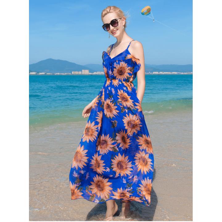 Платье из шелкового шифона PLA029