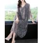 Платье из шелкового шифона PLA041