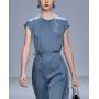 Платье из двойного стрейч-крепа высокой плотности PLA049