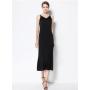 Платье из шелкового стрейч-атласа высокой плотности PLA064