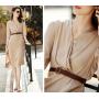 Платье из шелкового стрейч-атласа PLA066