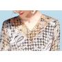 Платье из шелкового стрейч-атласа PLA077