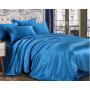 Шелковое постельное белье-цвет королевский синий HL19032