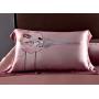 """Элитное шелковое постельное белье супер-высокой плотности """"Изабелла"""" HL19040"""