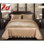 """Элитное шелковое постельное белье супер-высокой плотности """"Шангрия"""" HL19041"""