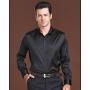 Мужская рубашка из шелкового стрейч-атласа RUB003