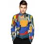 Мужская рубашка из шелкового стрейч-атласа высокой плотности RUB006