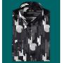 Мужская рубашка из шелкового стрейч-атласа высокой плотности RUB007A