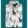 Мужская рубашка из шелкового стрейч-атласа высокой плотности RUB007