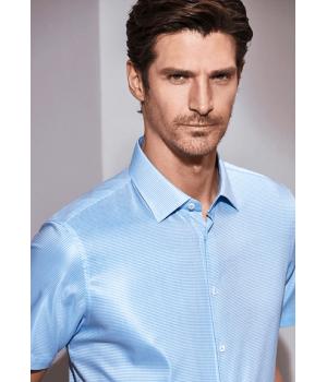 Мужская рубашка (натуральный шелк+хлопок) RUB007
