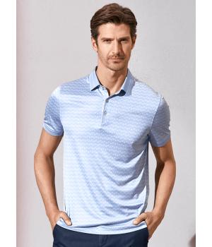 Мужская рубашка из 100% шелкового трикотажа RUB009