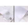 Шелковая рубашка с кристаллами Сваровски RUB011A
