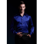 Шелковая рубашка с кристаллами Сваровски RUB011