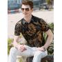 Мужская рубашка из шелкового стрейч-атласа RUB013
