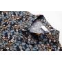 Мужская рубашка из шелкового стрейч-атласа RUB015