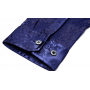 Мужская рубашка из шелка с тиснением RUB021