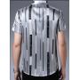 Мужская рубашка из шелкового атласа RUB025