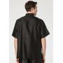 Мужская рубашка из шелкового атласа RUB031