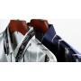 Мужская рубашка из шелкового атласа RUB035