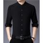 Мужская рубашка из шелкового стрейч-крепа RUB038