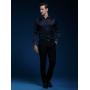 Мужская рубашка из шелкового стрейч-атласа высокой плотности RUB039