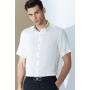 Мужская рубашка из шелкового стрейч-атласа высокой плотности RUB040