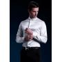 Мужская рубашка из шелкового стрейч-атласа высокой плотности RUB043