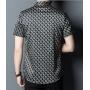 Мужская рубашка из шелкового стрейч-атласа RUB054