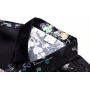 Мужская рубашка из шелкового стрейч-атласа RUB058