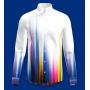 Мужская рубашка из шелкового стрейч-атласа высокой плотности RUB063