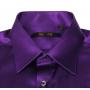 Мужская рубашка из шелкового атласа супер-высокой плотности RUB065