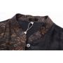 "Мужская рубашка из ""битого"" шелка RUB067"