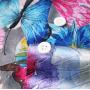 (Пошив на заказ) Мужская рубашка из шелкового стрейч-атласа высокой плотности RUB072