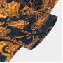 (Пошив на заказ) Мужская рубашка из шелкового стрейч-атласа высокой плотности RUB073