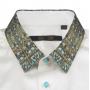 Мужская рубашка из шелкового стрейч-атласа высокой плотности RUB080