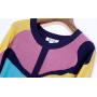Блузка из шелкового трикотажа SHT009